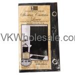 Shower Curtain Liner Black Wholesale