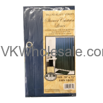 Shower Curtain Liner Navy Wholesale