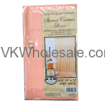 Shower Curtain Liner Peach Wholesale