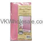 Shower Curtain Liner Pink Wholesale