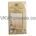 Shower Curtain Liner Taupe Wholesale