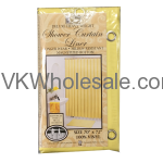 Shower Curtain Liner Yellow Wholesale