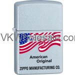 Zippo Classic American Original Satin Chrome Z155 Wholesale