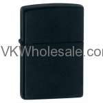 Zippo Black Matte Lighter 218 Wholesale