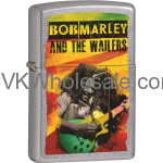 Zippo Classic Bob Marley and The Wailers Street Chrome Z232
