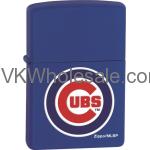 Zippo Classic MLB Chicago Cubs Royal Blue Matte Z902 Lighter Wholesale