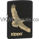 Zippo Classic Eagle Black Matte Z271 Wholesale