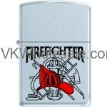 Zippo Classic Fire Fighter Satin Chrome Z278 Wholesale