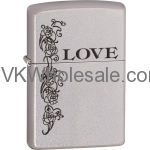 Zippo Classic Love Inspiration Satin Chrome Z250 Wholesale