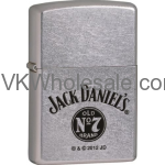 Zippo Classic Jack Daniels Old No.7 Brand Street Chrome Z230 Lighter Wholesale