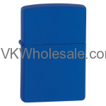 Zippo Royal Blue Matte Lighter 229 Wholesale