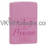 Zippo Classic Princess Pink Matte Z276 Wholesale