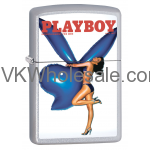 Zippo Classic Playboy July 1977 Satin Chrome Z334 Wholesale