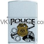 Zippo Classic Police Satin Chrome Z279 Wholesale