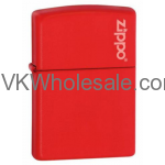 Zippo Windproof Red Matte Lighter 233 Wholesale