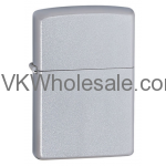 Zippo Windproof Satin Finish Chrome Lighter Wholesale