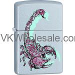 Zippo Classic Scorpion Satin Chrome Z146 Wholesale