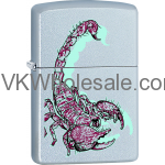 Zippo Classic Scorpion Satin Chrome Z146 Wholesale