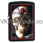 Zippo Mazi Spider Skullblack Lighter Wholesale