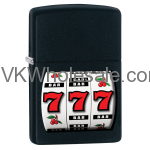 Zippo Classic 777 Casino Black Matte Z205 Lighter Wholesale