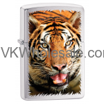 Zippo Classic Tiger Brushed Chrome Z339 Wholesale