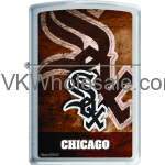 Zippo Classic MLB Chicago White Sox Brushed Chrome Z911 Wholesale