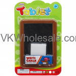 "5.75"" x 4"" BLACKBOARD PLAY SET IN BLISTER CARD Wholesale"