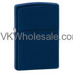 Zippo Windproof Navy Blue Matte Lighter 239 Wholesale