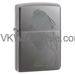 Zippo Seductive Silhouette - Black Ice 20762 Lighter Wholesale