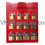 Brass Padlock 25mm / 30mm / 35mm Wholesale