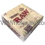 RAW Organic Hemp Connoisseur King Size Slim + Tips