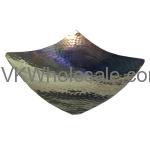 Hammered Square Platter 5'' Wholesale