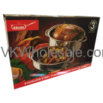 Stainless Steel Turkey Roaster with S/S Rack Wholesale