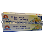 Jumbo Zipper Freezer 2 Gallon Size Wholesale