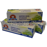 Zipper Seal Storage Freezer Bags Quart Size Wholesale