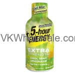 Wholesale Extra Strength Cool Mint Lemonade 5-Hour Energy