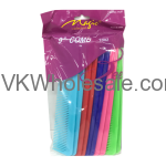 "9"" Hair Comb Assorted Colors Wholesale"