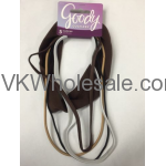 Goody Headbands Brown Ouchless Headwraps Assorted Thickness Wholesale