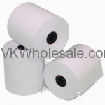 "Bright White Bond POS Rolls 2 1/4"" x 150' Wholesale"