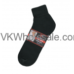 Ankle Socks Black Wholesale