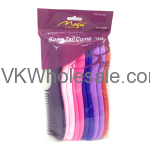 Bone Tail Hair Comb Assorted Colors Wholesale