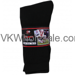 Crew Socks Black Wholesale