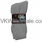 Crew Socks Gray Wholesale