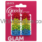 Goody Girls Jewel Flower Terry Ouchless Elastic Bands Wholesale