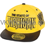 State of Michigan Snapback Summer Hats Wholesale