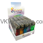 Spark Lite Clear Disposable Lighters Detail