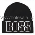 BOSS Embroidered Winter Skull Hats Wholesale