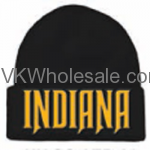 Indiana Embroidered Winter Skull Hats Wholesale