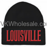 Louisville Embroidered Winter Skull Hats Wholesale