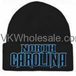 North Carolina Embroidered Winter Skull Hats Wholesale